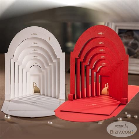 Wedding Invitation Cards Creative by 3d Style Creative Wedding Invitations Biziv Promotional