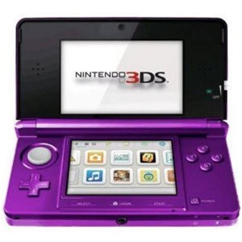 3ds console cheap black friday nintendo 3ds portable gaming console purple