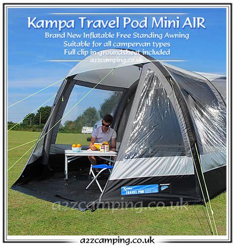 free standing motorhome awning new low standard 2015 kampa pod mini air free standing