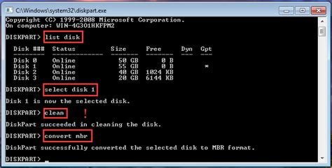 diskpart format as gpt how to free convert gpt disk to mbr disk without data loss