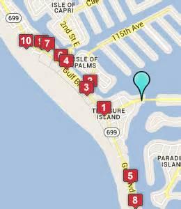 map of treasure island florida treasure island hotels driverlayer search engine