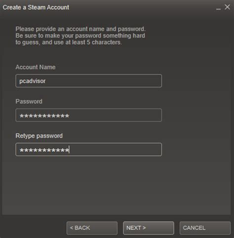 Search Steam Account By Email How To Buy And Play Using Steam Pc Advisor