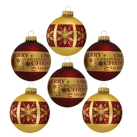 maroon ornaments by krebs glass ornament maroon and