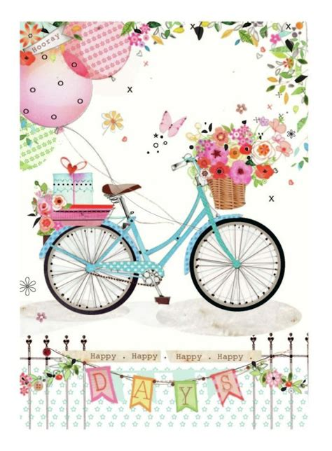 bicycle birthday card template 804 best bon voyage images on printables