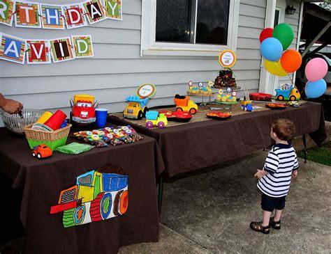 Truck Birthday Decorations by Dump Truck Birthday Quot David S Truck Birthday Quot Catch