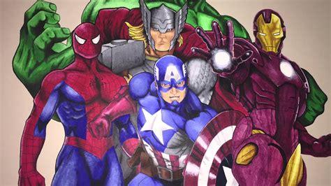 acrylic superhero mural youtube