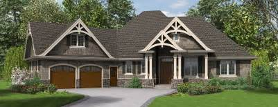 Single Story Craftsman House Plans by The Ripley Single Story Craftsman House Plan With Tons Of