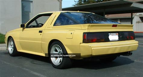 chrysler conquest yellow 1988 conquest starion yellow w blk cloth interior