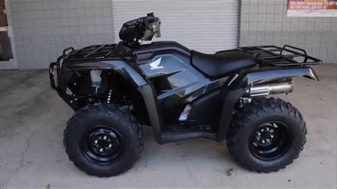 honda rubacon 500 black 2015 honda foreman es 500 for sale atv dealer