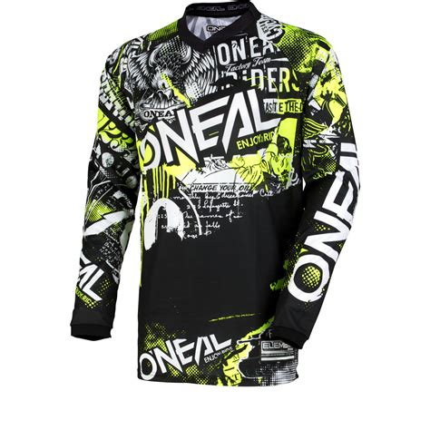 oneal motocross jersey oneal element 2018 attack motocross jersey arrivals
