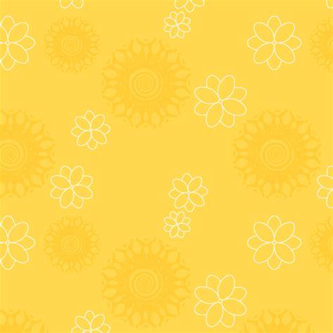 yellow pattern background yellow floral pattern