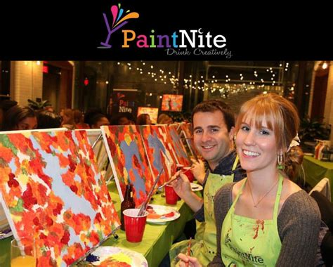 paint nite ques bar 25 for a paint nite admission for one at a local bar