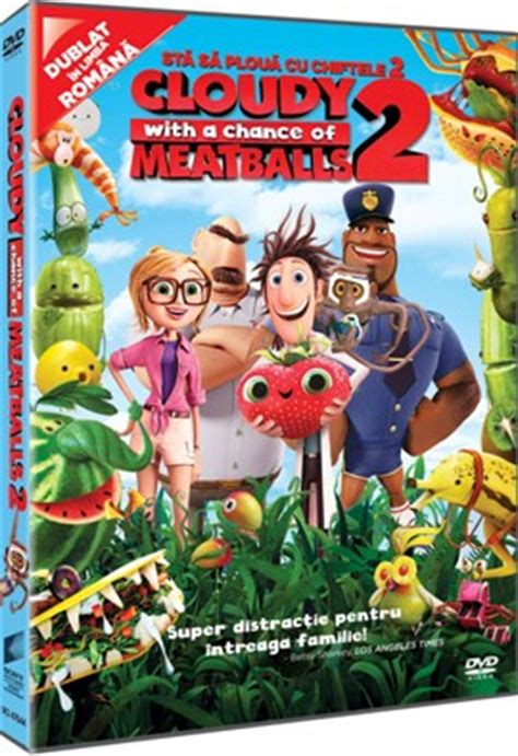 dvd ständer animatii dvd sta sa ploua cu chiftele 2 cloudy with a
