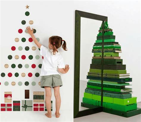 ladari originali fai da te 10 idee originali per un albero di natale fai da te