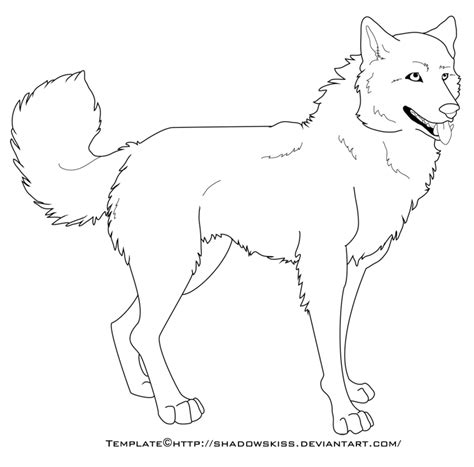 wolf template the gallery for gt wolf outline