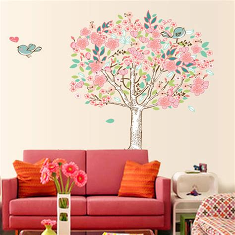 aliexpress buy bird flower tree removable vinyl wall