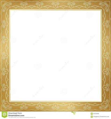 frame design high resolution vector gold frame stock vector image 56726466