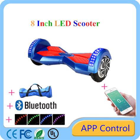 8 Inch Smart Balance Wheel With Bluetooth Battery Samsung bluetooth hoverboards 8 inch smart balance wheel self electric scooters ul certification battery