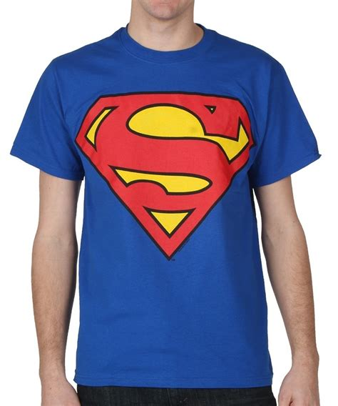 T Shirt Bodyfit Superman Gold superman shield t shirt