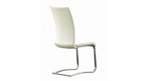 stuhl edelstahl stuhl arco freischwinger 6er set in wei 223 und edelstahl