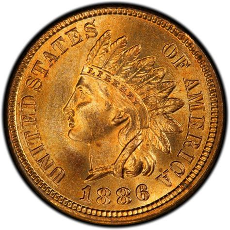 1886 indian head pennies values and prices past sales coinvalues com