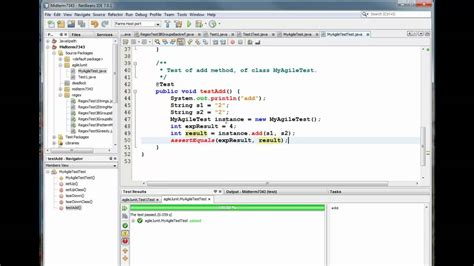 spring tutorial using netbeans working with junit in netbeans funnydog tv