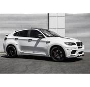 White BMW X6 E71 Crossover Gets Black Forgiato Alloy