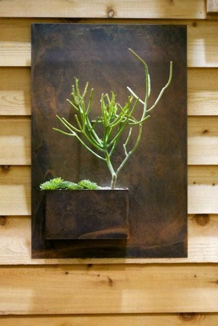 green ideas  modern wall decoration original vertical garden designs