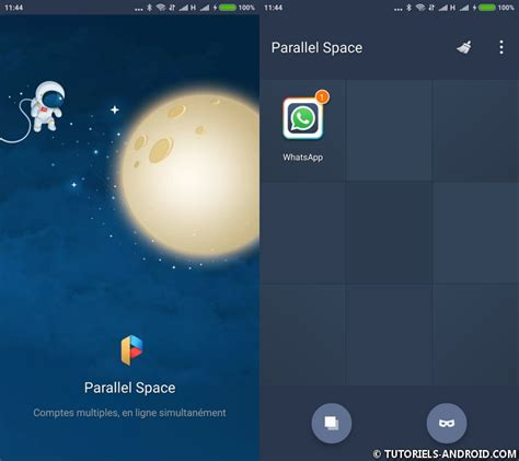 android space ouvrir plusieurs comptes whatsapp etc sur android