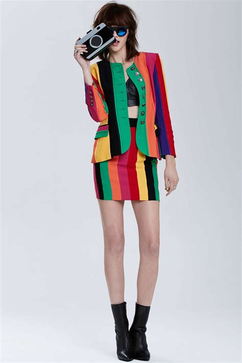 lyst moschino couture vintage moschino venice rainbow