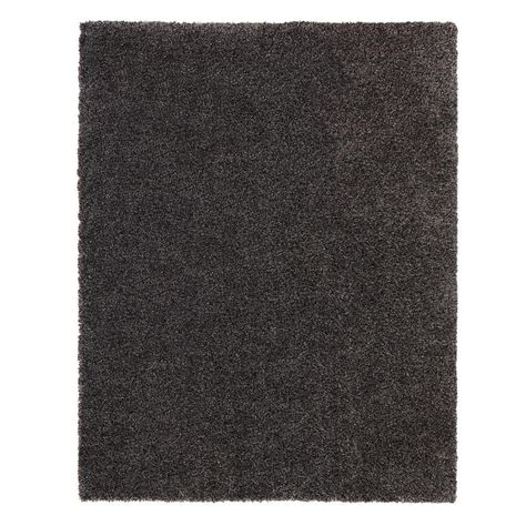 Grey Area Rugs Home Depot Home Decorators Collection Hanford Shag Grey 5 Ft 3 In X 7 Ft 5 In Area Rug 70010301602258