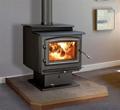 modern freestanding wood fireplace enviro kodiak 2100 series 24 x 33 freestanding wood