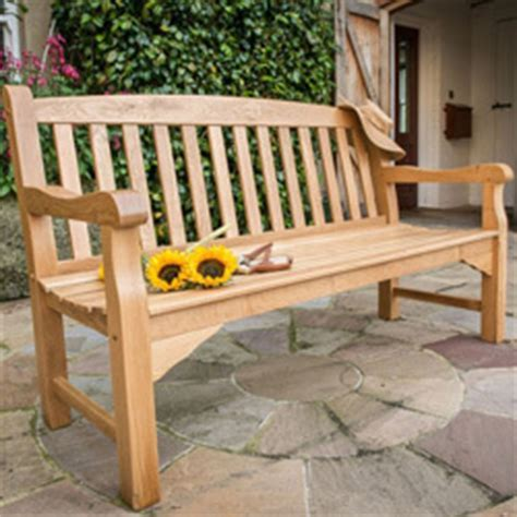 solid oak garden bench solid oak garden benches uk