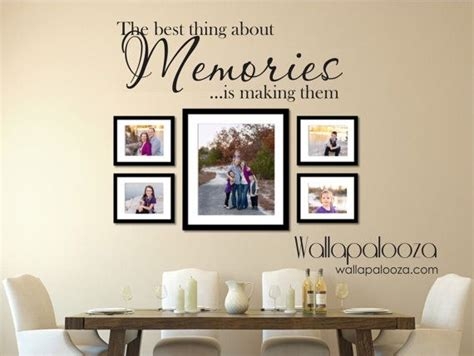 family portrait wall decor family wall decal memories wall decal family decal