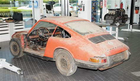 porsche museum cars barn found oldest 911 restored and showcased in porsche museum