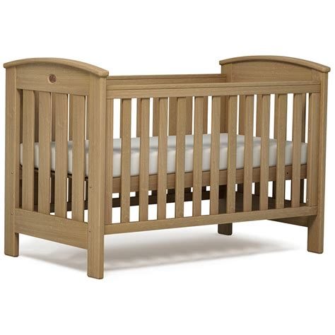 bed cot buy boori classic cot bed almond baby co