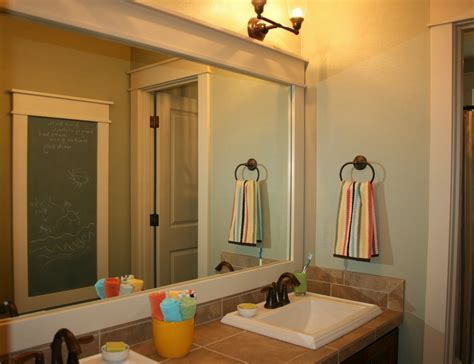 large bathroom mirror frames 8 ways to prettify bathroom without repacking wma property