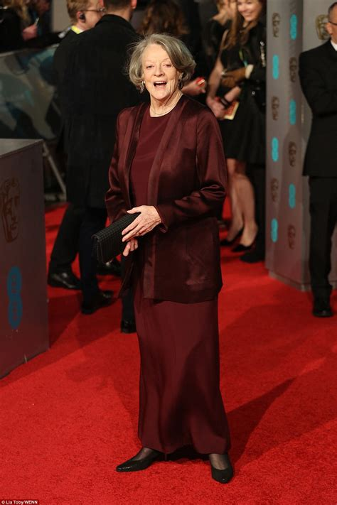 maggie smith makes a rare red carpet appearance picture bafta 2016 red carpet s best and worst dressed hollywood