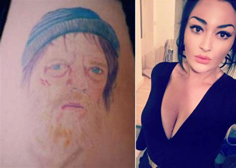 tattoo fixers ian beale girl with ian beale tattoo gets it hilariously fixed on