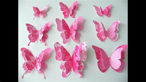 How To Make A 3d Paper Butterfly - paper butterfly craft site about children