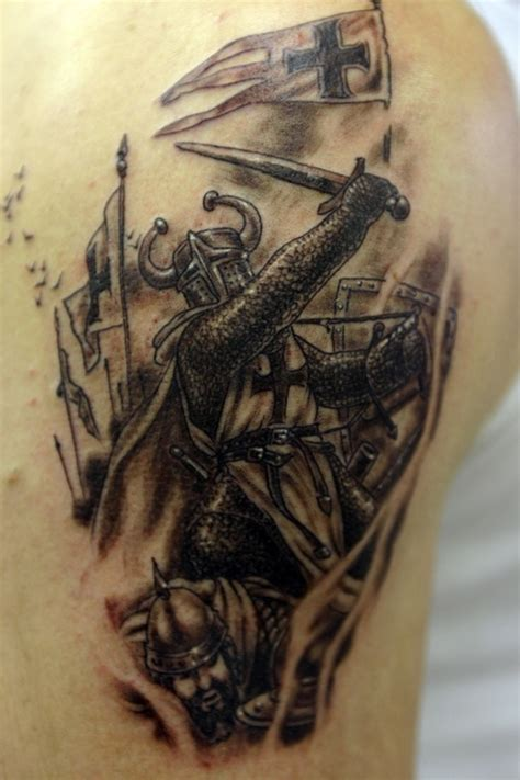 warrior tattoos for men 25 amazing warrior tattoos