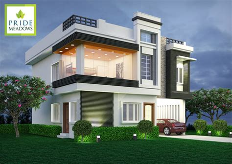 Duplex Homes by Villas Pride India Builders Pride Meadows At Balapur X