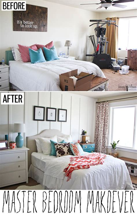 bedroom before and after pictures master bedroom makeover honeybear lane