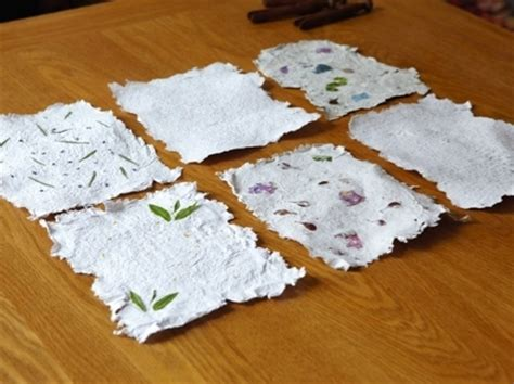 Easy Handmade Paper - simple crafts for snow days huffpost