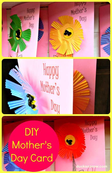 diy mother s day card diy mother s day card for preschoolers ducks n a row