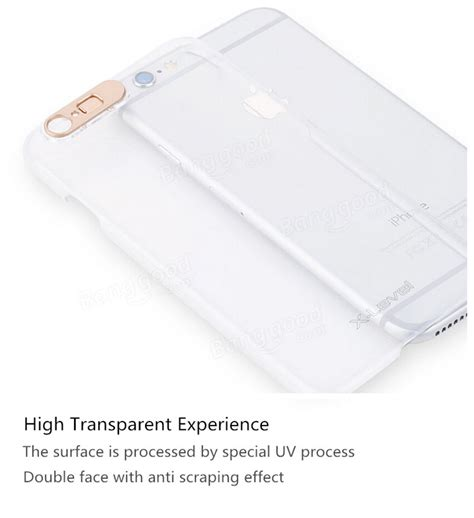 Special Ultra Thin For Iphone 6 Plus Transparent ultra thin luminous transparent protection shell pc clear