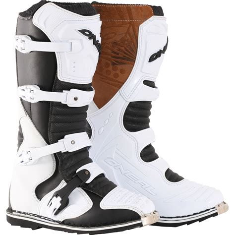 leather motocross boots oneal taranis es road mx steel toe cap enduro moto x