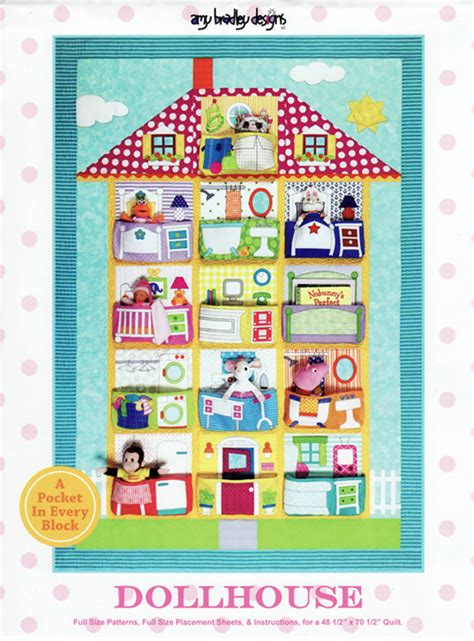 dollhouse quilt tutorial dollhouse quilt sewing pattern by bradley designs
