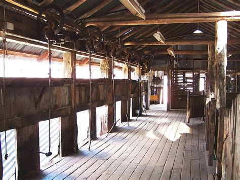 mid 19th shearing shed dubbo screen central