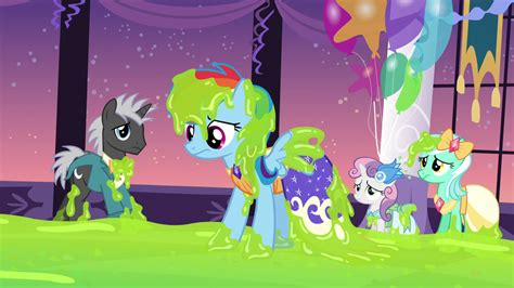 Rainbow Princess Slime Image Rainbow Dash Covered In Slime S5e7 Png My
